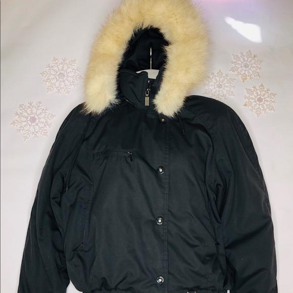 fera Jackets & Blazers - FERA Skiwear Fur Trimmed Hooded Ski Coat Jacket